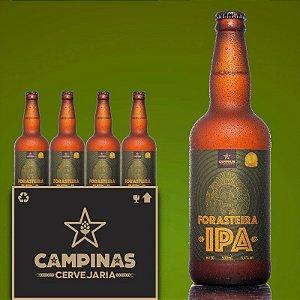 Caixa Fechada com 12 unid. da CAMPINAS Forasteira - American IPA  - 500ml
