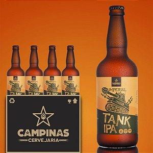 Caixa Fechada com 12 unid. da CAMPINAS Imperial TANK IPA - 500ml