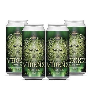 Kit Cerveja Artesanal 4Pack da CAMPINAS Videnz - Hazy IPA - 473ml