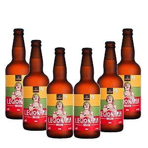 Kit de cerveja artesanal da CAMPINAS Legionária Weizen - 500ml [COMPRE 5 LEVE 6]