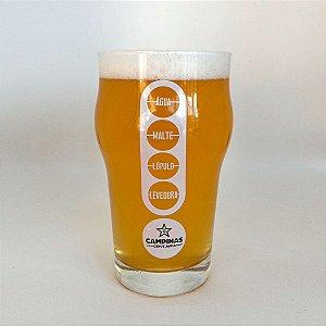Copo Pint Nonic Ingredientes Cervejaria CAMPINAS - 473ml