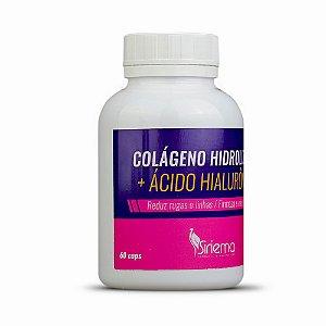Colágeno Hidrolisado + Ácido Hiarulônico 60 caps