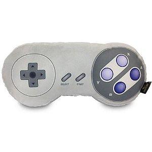 Mini Almofada Gamer Formato Controle Vídeo Game SNES Super Nintendo