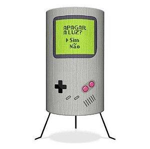 Luminária versão Game Boy * Apagar a Luz? Importada