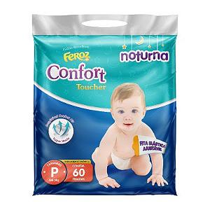 FRALDA INFANTIL FEROZ SOFT TOUCHER