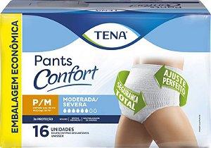 Tena Pants Confort Mega P/M com 16