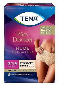 ROUPA ÍNTIMA TENA PANTS DISCREET NUDE G/EG 8 UNIDADES