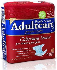 Fralda Geriátrica Adultcare Noturna Média fardo c/ 60