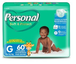 FRALDA INFANTIL PERSONAL SOFT HIPER