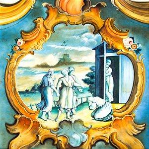 """DEMOGOLET - """"Adora Abraão aos três anjos"""" 100 x 100 (AST)"""