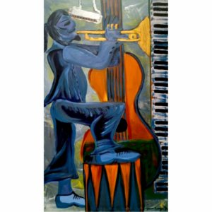"MAURO PROENÇA - ""Blues'n Jazz"" - AST - 60 X 100"