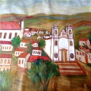 MARILENE MAGNAVITA - Igrejinha do Interior 76 x 82 (AST)