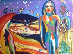 MARILENE MAGNAVITA - Mundo dos Sonhos 75 x 97 (AST)