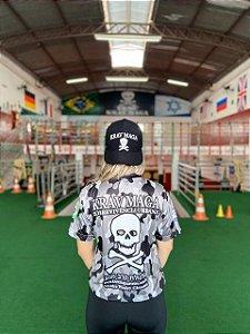 Camiseta DRYFIT Camuflada Cinza