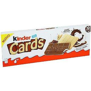 WAFER QUADRADO KINDER CARDS 128G