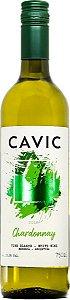Vinho branco Cavic chardonnay argentina