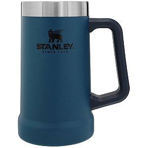Caneca térmica de cerveja stanley 710ml abyss (azul)