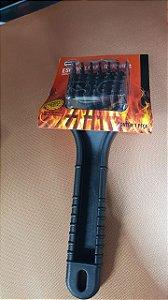 Escova para limpar grelha