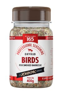 Dry hub pitmaster BIRDS John Mc