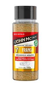 Tempero Gourmet para Frango JohnMc 110g
