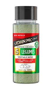Tempero Gourmet para Legumes JohnMc 120g