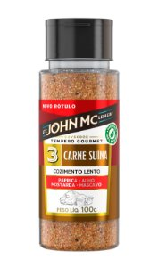 Tempero Gourmet para Suinos JohnMc 100g