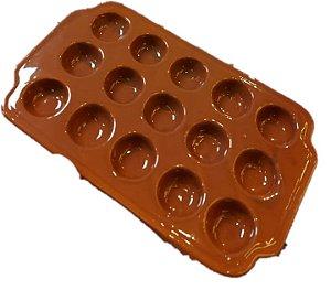 Provolera Marrom Cerâmica - 15 Cavidades