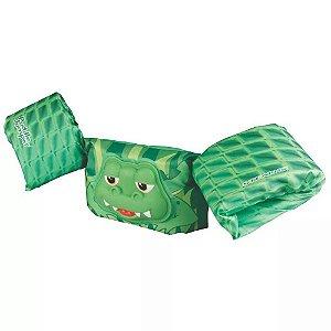 Colete Flutuante Infantil Deluxe Gator Verde - Coleman
