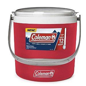 Cooler Térmico Circle 8,5 Litros Vermelho - Coleman