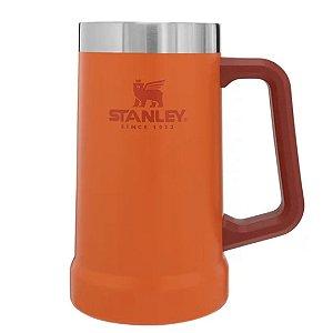 Caneca Térmica De Cerveja/Chopp Orange 709Ml - Stanley