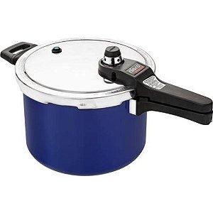 Panela Pressão 6,0 L Eterna Azul - Nigro