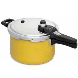 Panela Pressão 6,0 L Eterna Amarela - Nigro