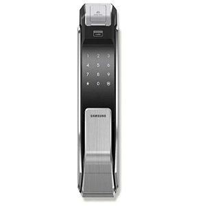 Fechadura Eletrônica Com Biometria Shs-P718 Preta - Samsung