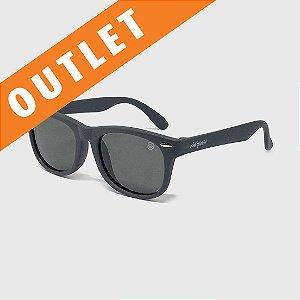 [OUTLET] Óculos de Sol Infantil Flexível com Lente Polarizada e Proteção UV400 Cinza