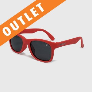[OUTLET] Óculos de Sol Infantil Flexível com Lente Polarizada e Proteção UV400 Vermelho