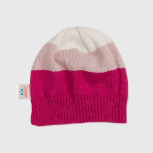 Gorro 3 Color - Pink/Rosa/Off White