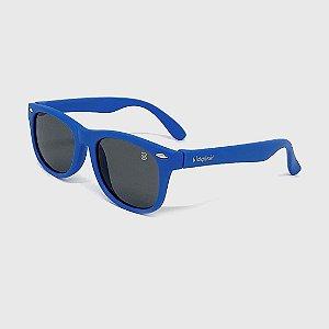 Óculos de Sol Infantil Flexível com Lente Polarizada e Proteção UV400 Azul Claro