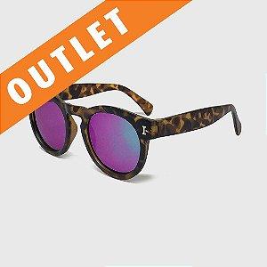 [OUTLET] Óculos de Sol Infantil com Proteção UV400 Acetato Tartaruga