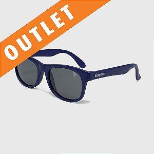 [OUTLET] Óculos de Sol Infantil Flexível com Lente Polarizada e Proteção UV400 Azul Marinho