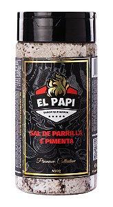 Sal de Parrilla e Pimenta - 450g