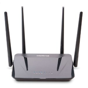 ROTEADOR INTELBRAS WIRELESS 4 PORTAS DUAL BAND AC1200 R
