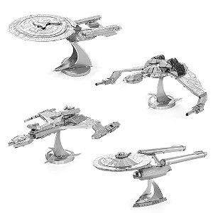 Réplicas em Miniaturas 3D de Metal - Star Trek