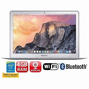 *N5101* Macbook Air Apple A1466 Intel I5 4gb Ram 128gb Ssd 13.3 Os X El Capitan, produto na caixa em estado de novo, muito pouco uso, aceitamos seu notebook usado na troca.