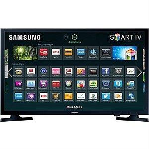 """Compro Smart TV LED 32"""" Samsung UN32J4300AGXZD HD com Conversor Digital 2 HDMI 1 USB Wi-Fi 120Hz"""