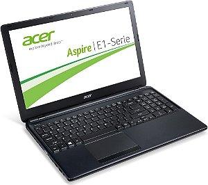 Notebook Grande Acer E1 Core i3 1.7ghz HD 500gb 4GB Teclado numérico, HDMI, 3 USB, Win 10 notebook usado. Aceitamos seu produto como pagamento N5076