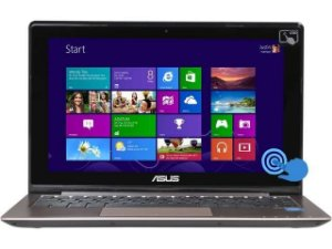 "Ultrabook Asus Q200E Core i3 1.8ghz hd 320gb 4gb Touch 11"" HDMI, USB 3.0, Webcam Windows 10 Aceitamos notebooks usados como parte do pagamento"