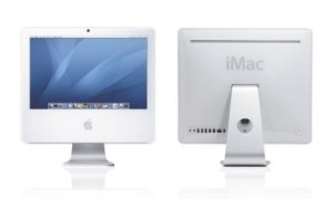"Imac A1195 Intel Core 2 Duo 1.83 2GB HD 160gb, Tela 17"" 3 USB, Wifi, Rede, 2 Saídas Thunderbolt Mac OS X Lion 10.7.5 Aceitamos notebooks. *N5023*"