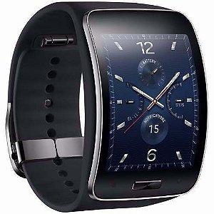 Relógio Samsung Galaxy Gear S Sm-r750 Dual Core Wi-fi 3g Gps, Aceitamos troca por Smartphone Samsung Galaxy Note 4 ou 5, ligue (11) 3136-0619 e fale conosco
