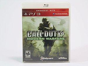 Call OF Duty 4 Modern Warfare Jogo para PS3 *6718*