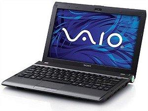 """Notebook Sony Vaio VPCYB25AB AMD 1.6ghz HD 500gb 3gb HDMI Tela 11.6"""" Win 7, 3 USB, Wifi, Slot SD"""